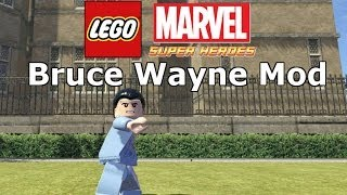 getlinkyoutube.com-LEGO Marvel Super Heroes - Bruce Wayne Mod