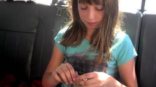 getlinkyoutube.com-10 year old Rachel (my daughter) eating a cricket