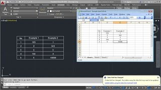 getlinkyoutube.com-AutoCAD Excel Data Link Table