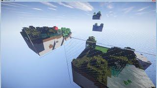 【minecraft】キューブが浮かぶこの世界で part 01【ゆっくり実況】