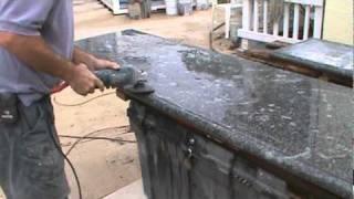 getlinkyoutube.com-Two more cement countertops.mpg