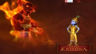 getlinkyoutube.com-Little Krishna Tamil - Episode 5 Fire and Fury