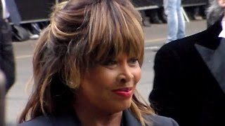 getlinkyoutube.com-Tina TURNER @ Milan Italy 30 april 2015 Opening Armani Silos Milano