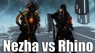 getlinkyoutube.com-Warframe Academia: Rhino vs Nezha