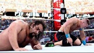 getlinkyoutube.com-Rusev vs John Cena WrestleMania 31 Highlights