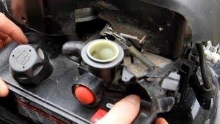 getlinkyoutube.com-How to Replace Diaphragm and Gasket on Briggs and Stratton Engine Primer Carburetor