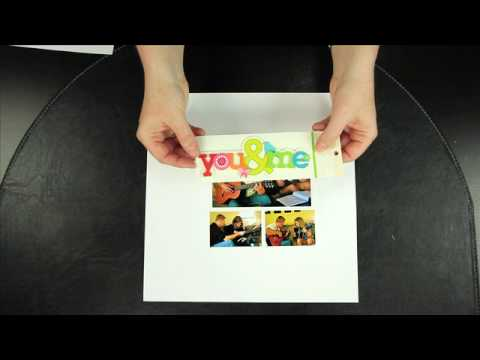 Beginner Scrapbook Tutorials - Part 1 - Creating Your First Layout