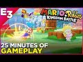 25 Minutes of Mario + Rabbids Kingdom Battle Gameplay @ E3 2017