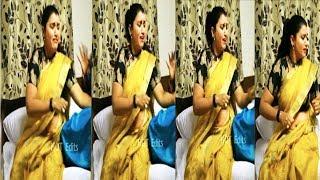 Vijay Tv Raja Rani Serial Actress Archana Ultra Hot Navel Slip New 2018