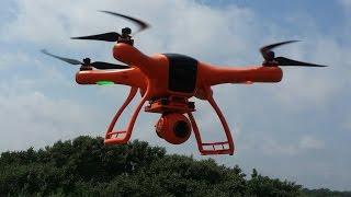 getlinkyoutube.com-Квадрокоптер для съемок Wingsland Scarlet Minivet с камерой, подвесом и FPV, Banggood