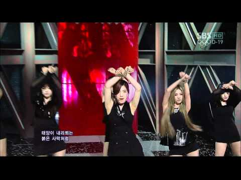 T-ARA - Don't Leave & DAY BY DAY @Comeback Stage (8 July,2012)