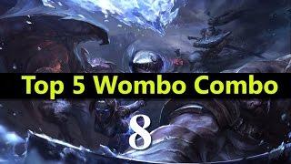 getlinkyoutube.com-Top 5 Wombo Combo League Of Legends #08 | Best League Of Legends Wombo Combo compilation