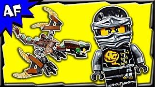 getlinkyoutube.com-Lego Ninjago COLE's DRAGON 70599 Stop Motion Build Review