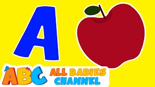 getlinkyoutube.com-ABC Songs For Children | ABC Phonics Song | Nursery Rhymes | All Babies Channel