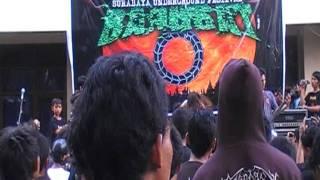G.A.S - Obscured By Fundamentalism Live@ Surabaya, Trendy Bangsat #22