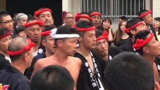 getlinkyoutube.com-2015.10.10泉大津濱八町だんじり乱闘騒ぎ
