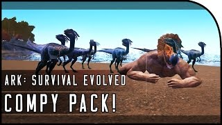 ARK: Survival Evolved COMPY GAMEPLAY! (TINY BUT KILLER PACK ANIMAL!)