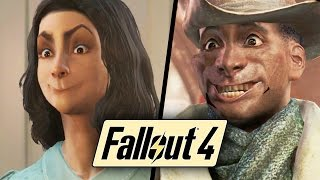 "getlinkyoutube.com-Fallout 4 Mods: ""Immersive"" Facial Animations MOD Gameplay! Fallout 4 Funny Moments"