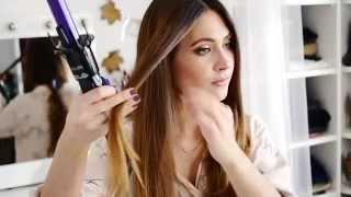 getlinkyoutube.com-Bellissima Ricci&Curl peinados sencillos y ondas fáciles como nos enseña Lizy P