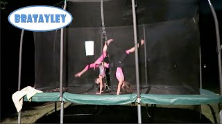 getlinkyoutube.com-Nighttime Gymnastics  (WK 247.2) | Bratayley