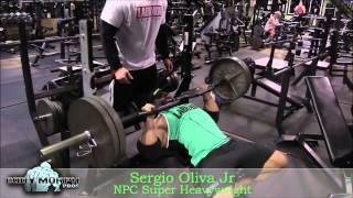getlinkyoutube.com-Sergio Oliva Jr. Blasts Chest at Quads Gym!!
