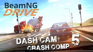 getlinkyoutube.com-BeamNG.drive - Dash Cam Crash Compilation #5