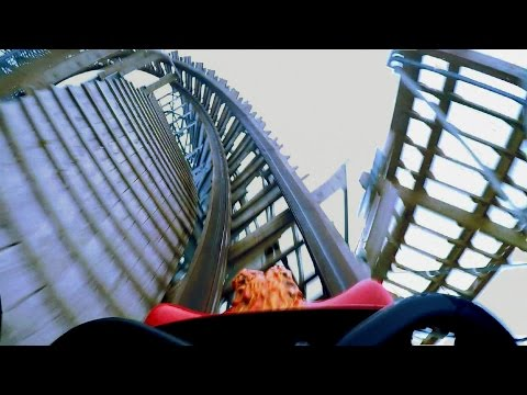 Hades 360 front seat on-ride HD POV @60fps Mt. Olympus Water & Theme Park