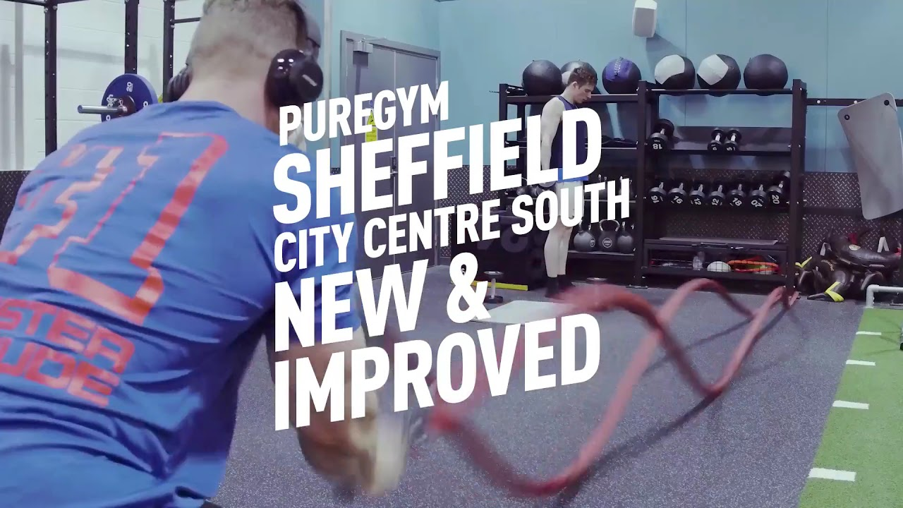 New and improved PureGym Sheffield City Centre South