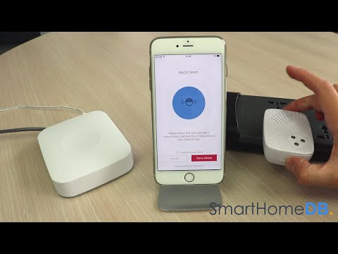 HOW-TO: Unpair and Disconnect your Samsung SmartThings Hub from an Aeotec Siren