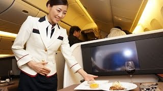 "getlinkyoutube.com-Japan Airlines new First Class / ""NEW JAL SUITE"" : Tokyo to New York"