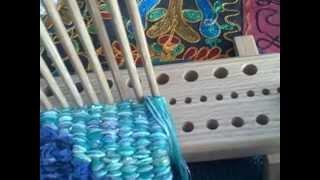 getlinkyoutube.com-Introducing The Dewberry Ridge Peg Loom by Noreen CroneFindlay c)