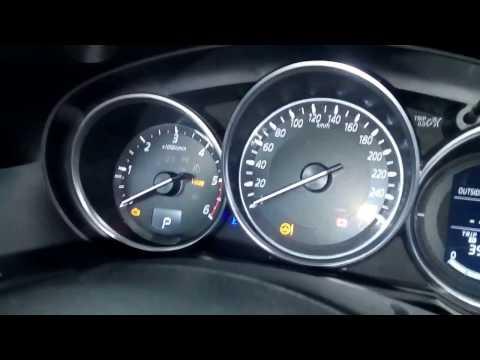 Mazda CX-5 электронный ручник, сервисный режим