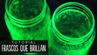 getlinkyoutube.com-Cómo hacer frascos que brillan (fácil) - #RetoALiz ✎ Craftingeek