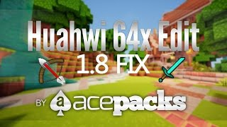 getlinkyoutube.com-★ Huahwi Texture Pack 1.8 Fix ★ Huahwi 64x Resource Pack Fixed Items