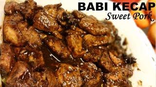 Resep Babi Kecap Enak (Delicious Sweet Pork Recipe)
