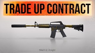 getlinkyoutube.com-CS:GO - Trade Up Contract: M4A1-S Knight or GTFO! - High Risk (Deutsch/German)