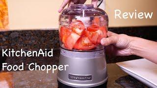 getlinkyoutube.com-KitchenAid Food Chopper Review