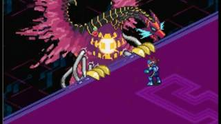 getlinkyoutube.com-Mega Man Star Force 3 Red Joker - FINAL BOSS: Crimson Dragon