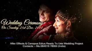 getlinkyoutube.com-After Effects Wedding Title Goldan age
