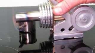getlinkyoutube.com-Fast running Stirling engine