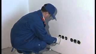 Как правильно проложить электропроводку