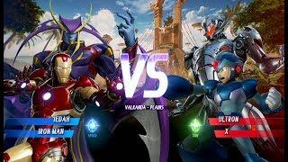 Marvel vs. Capcom: Infinite - Jedah and Gamora Gameplay