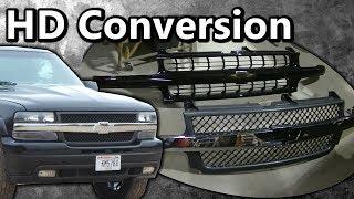 """getlinkyoutube.com-2000 Silverado 1500 """"2500HD Front End Conversion"""" How To"""