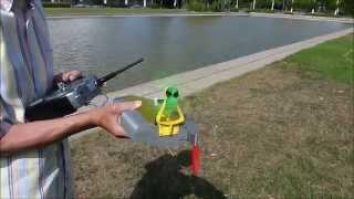 getlinkyoutube.com-Fully 3D printed Air Boat second try