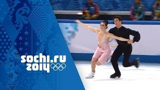 getlinkyoutube.com-Tessa Virtue & Scott Moir - Full Silver Medal Free Dance Performance | Sochi 2014 Winter Olympics
