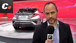 getlinkyoutube.com-Toyota C-HR  SUV | Salón de Ginebra 2016 | Geneva International Motor Show | coches.net