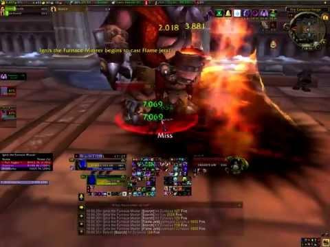 Warlock solo Ignis the Furnace Master (Ulduar10)
