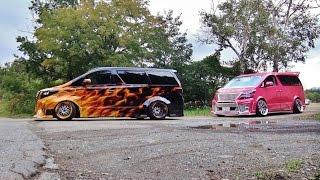 getlinkyoutube.com-【搬出動画①】 ドレスアップワゴン2016 シャコタン 車高短