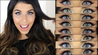 getlinkyoutube.com-DESIO contact lenses ♥ העדשות שלי
