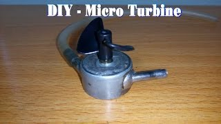 getlinkyoutube.com-How To Make a Micro Turbine From Motor 5v
